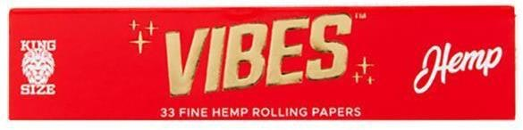 Hemp King Size Slim Papers Accessories Rolling Paper