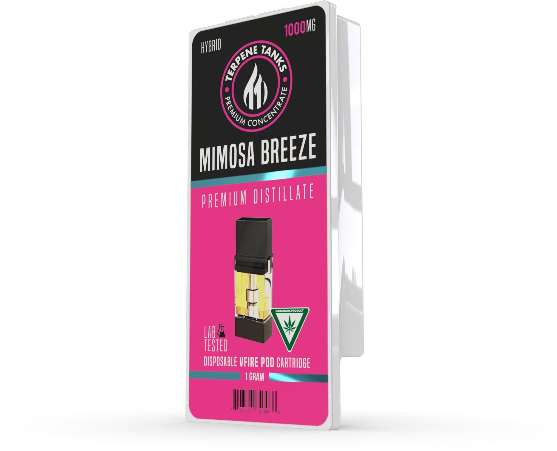 Mimosa Breeze Cartridge Vape Distillate Vape