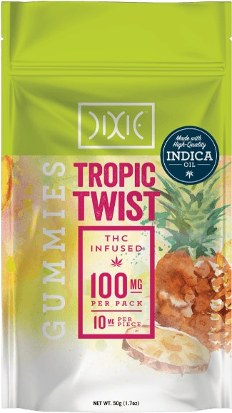 Tropic Twist Gummies Edibles Gummies